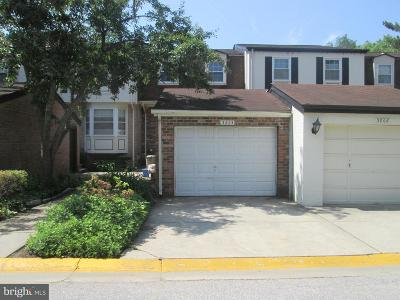 Silver Spring Townhouse For Sale: 3804 Dunsinane Drive #25