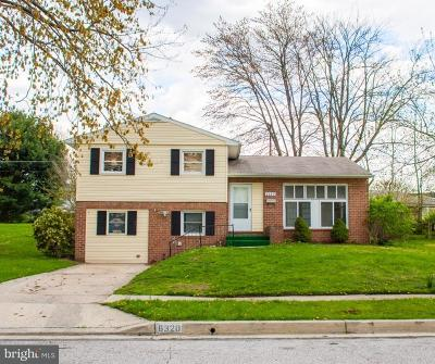 Baltimore Single Family Home For Sale: 6320 Craigmont Road