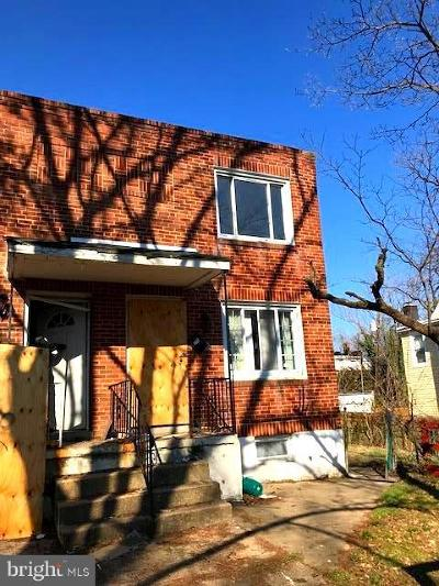 Baltimore Single Family Home Under Contract: 712 Homestead Street