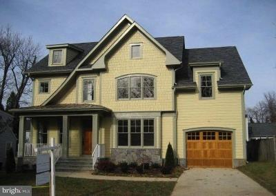 Bethesda MD Single Family Home For Sale: $1,595,000
