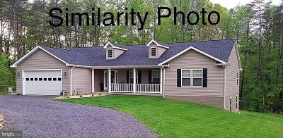 Orange County Single Family Home For Sale: Stonewall Road