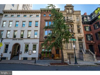 Philadelphia Townhouse For Sale: 1910 Rittenhouse Square