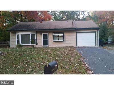Mount Laurel Single Family Home For Sale: 309 Maple Road