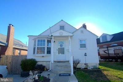 Baltimore Single Family Home For Sale: 2801 Emerald Road