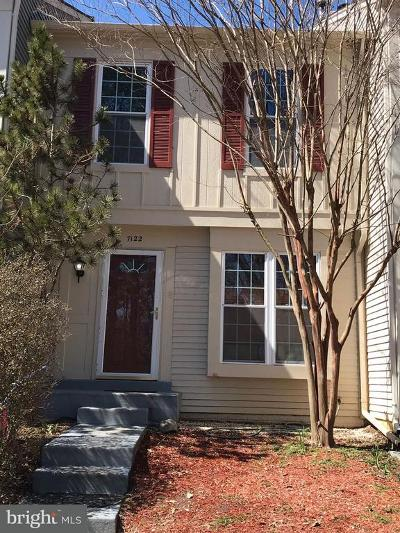 Alexandria Townhouse For Sale: 7122 Cold Spring Court