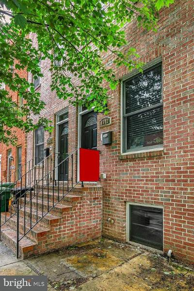Locust Point Single Family Home For Sale: 1342 Towson Street
