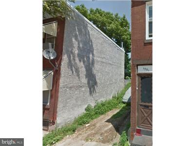 Point Breeze Residential Lots & Land For Sale: 1549 S Bambrey Street