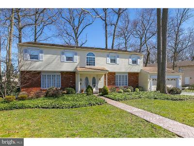 Cherry Hill Single Family Home For Sale: 142 Green Vale Road