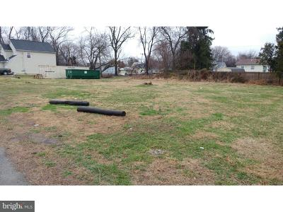 New Castle County, NEW CASTLE COUNTY Residential Lots & Land For Sale: 308 Jefferson Street