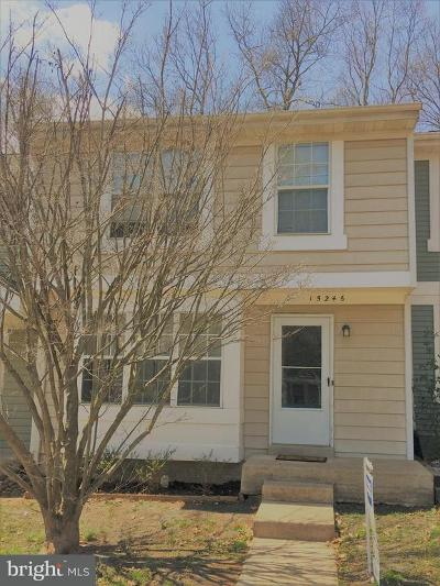 Dumfries Townhouse For Sale: 15246 Streamside Court