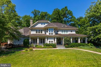 Bethesda MD Single Family Home For Sale: $3,595,000