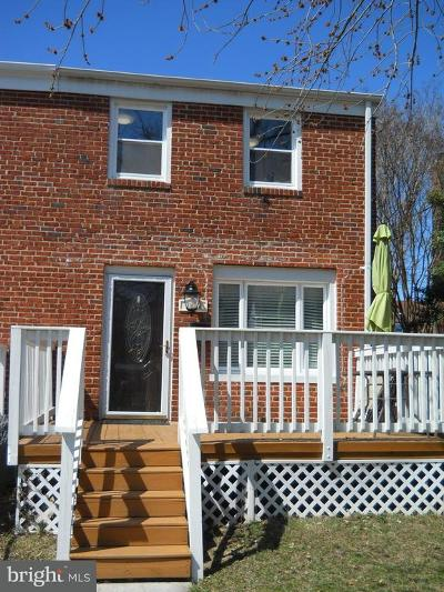 Dundalk Townhouse For Sale: 1928 Dineen Drive