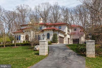 Bethesda MD Single Family Home For Sale: $3,999,000