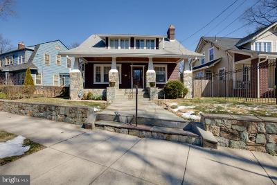 16th Street Heights, H Street Coridor, H Street Corridor Single Family Home Active Under Contract: 1357 Montague Street NW
