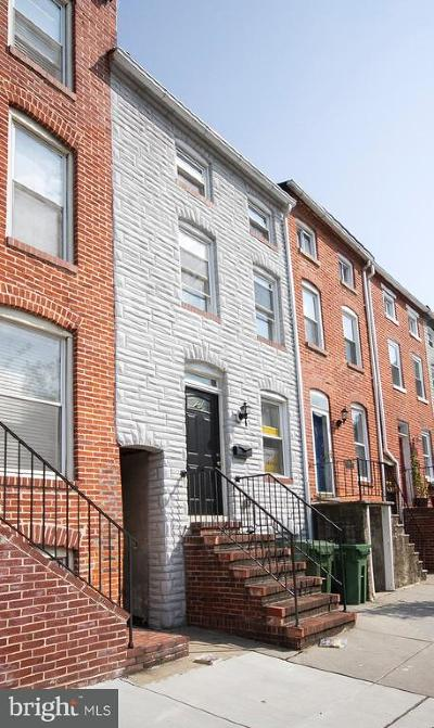 Baltimore Townhouse For Sale: 2020 Bank Street