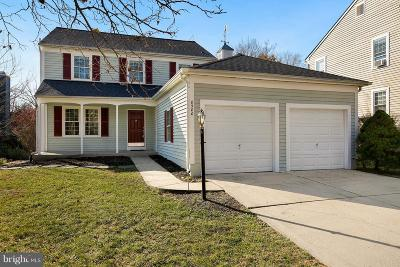 Howard County Single Family Home For Sale: 8580 Dark Hawk Circle