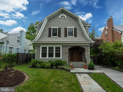 Chevy Chase Single Family Home For Sale: 4421 Ridge Street