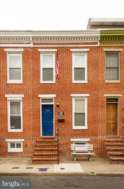 Canton, Federal Hill, Federal Hill Area, Federal Hill;, Federall Hill, Fell Point, Fells Point, Fells Point Upper, Inner Harbor Single Family Home For Sale: 1617 Clarkson Street