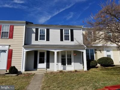 Montgomery County Single Family Home Under Contract: 18214 Smoke House Court