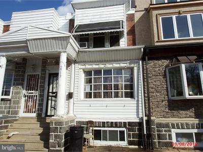 Philadelphia PA Single Family Home Under Contract: $180,000
