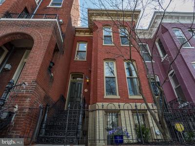 Logan Circle Single Family Home For Sale: 1406 Swann Street NW