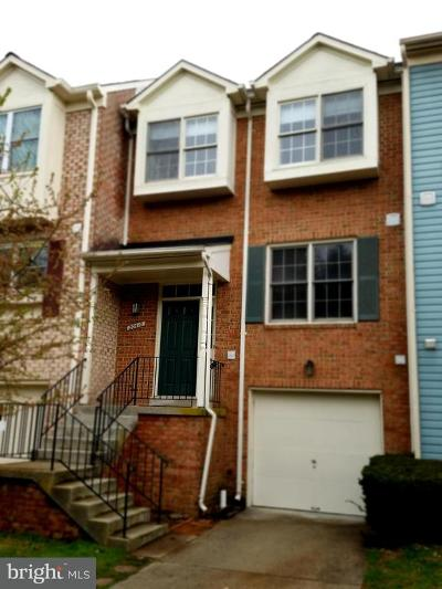 Montgomery Village Townhouse For Sale: 20410 Lindos Court