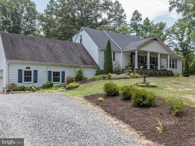 Spotsylvania Single Family Home For Sale: 5921 Partlow Road