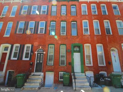 Baltimore Townhouse Active Under Contract: 22 Parkin Street