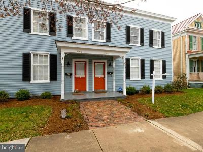 Fredericksburg VA Single Family Home For Sale: $549,000