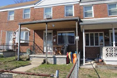 Baltimore Single Family Home For Sale: 878 Jaydee Avenue