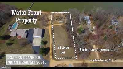 Prince Georges County, Saint Marys County, Charles County Residential Lots & Land For Sale: 1535 Ben Doane Road