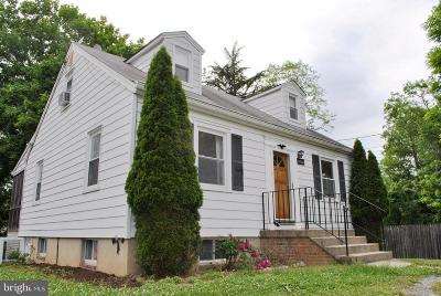 Silver Spring Single Family Home For Sale: 12804 Eckmoor Road