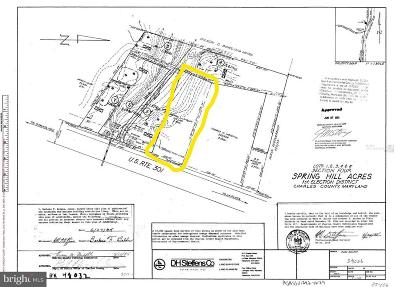 La Plata MD Residential Lots & Land For Sale: $99,900