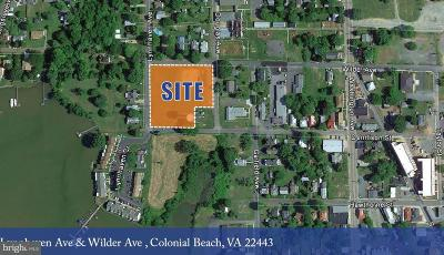 Town Of Colonial Beach Residential Lots & Land For Sale: Wilder Avenue