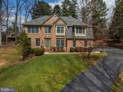 Rockville Single Family Home For Sale: 9909 Aldersgate Road
