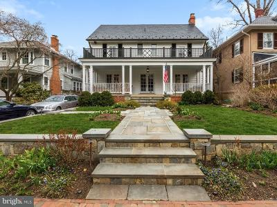 Chevy Chase Single Family Home For Sale: 7 Hesketh Street