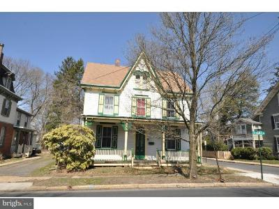Moorestown Single Family Home For Sale: 1 W 2nd Street