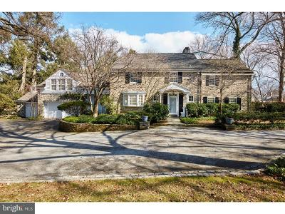 Bryn Mawr Single Family Home For Sale: 621 Carisbrooke Road