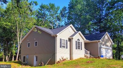 Culpeper Single Family Home For Sale: 19667 Old Orange Road