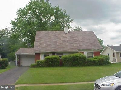 Willingboro NJ Single Family Home For Sale: $115,000