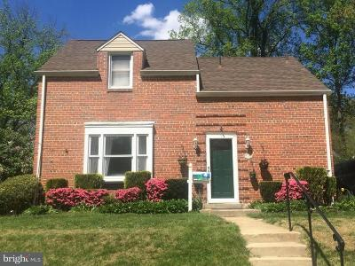 Silver Spring Single Family Home For Sale: 1119 Dennis Avenue