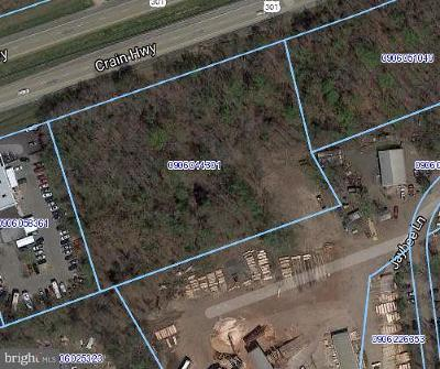 White Plains Residential Lots & Land For Sale: Crain Highway