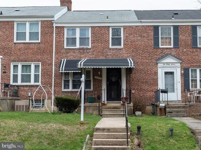 Catonsville Single Family Home For Sale: 235 Medwick Garth W