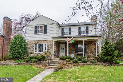 Baltimore Single Family Home For Sale: 324 Taplow Road