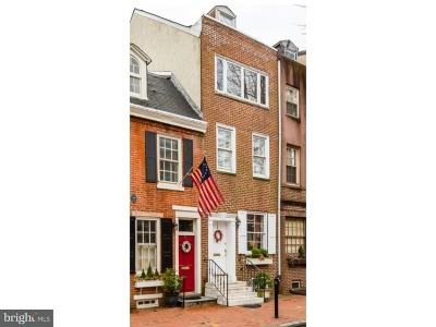 Philadelphia Single Family Home For Sale: 610 Pine Street