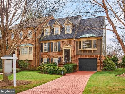 Falls Church Single Family Home Active Under Contract: 125 Tollgate Way