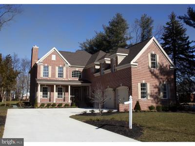 Moorestown Single Family Home For Sale: 700 Bentley Court