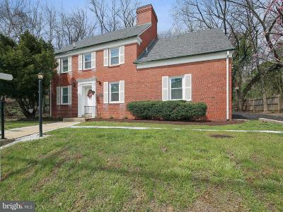 Chevy Chase Single Family Home For Sale: 4905 Bradley Boulevard