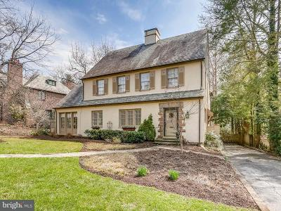 Baltimore Single Family Home For Sale: 103 Overhill Road