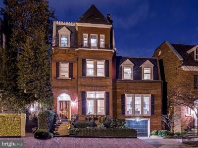 Georgetown Single Family Home For Sale: 1675 31st Street NW